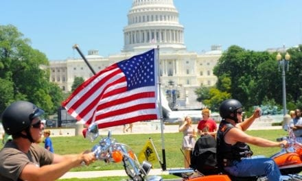 Motorcyclists rally in Washington, D.C., seeking independent testing of E15 fuel blend