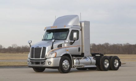 LNG Tanks Now Available as a Factory-Installed Option for Freightliner Cascadia Natural Gas Trucks