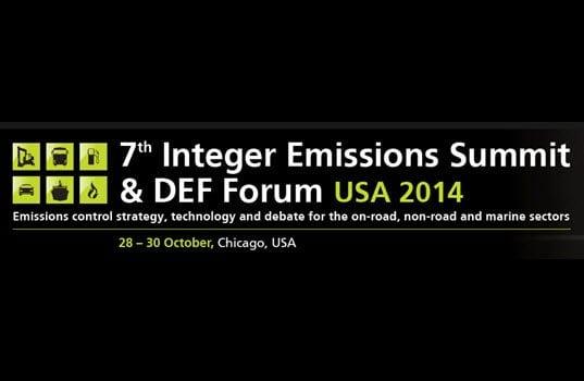 7th Integer Emissions Summit & DEF Forum USA 2014