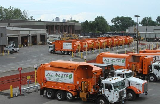 TruStar Energy Builds CNG Fueling Station for All Waste, Inc.