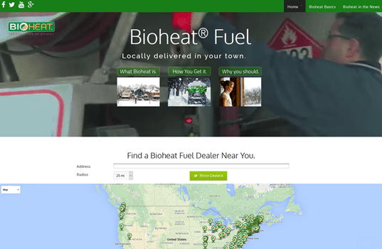 NBB Launches New Bioheat® Website Redesign With Focus on Consumer