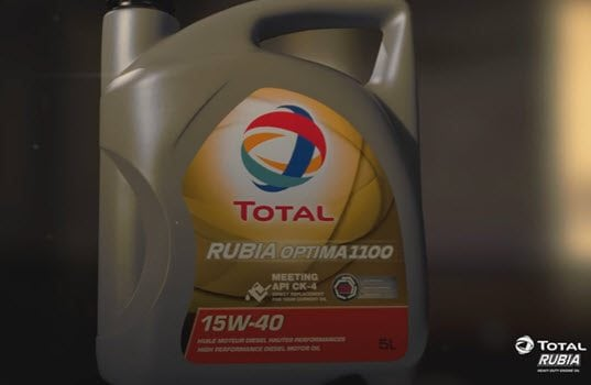 TOTAL Unveils the New RUBIA OPTIMA Lubricants Range for Heavy-Duty Engines, Meeting API CK-4 and FA-4 Specifications