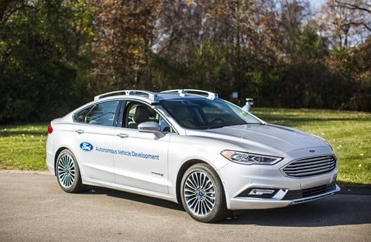 Ford Debuts Next-Generation Fusion Hybrid Autonomous Development Vehicle; Car to First Appear at CES and North American International Auto Show in January