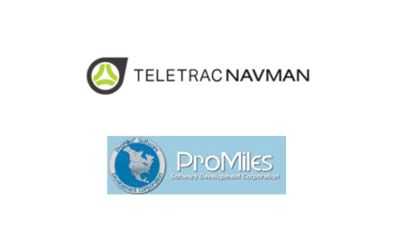 Teletrac Navman and ProMiles Announce Integrated Solution for Fuel Tax Reporting and Compliance