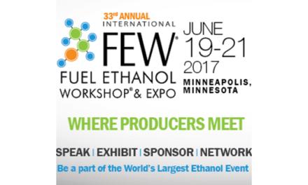 2017 International Fuel Ethanol Workshop & Expo (FEW) Announces Technical Sessions Agenda