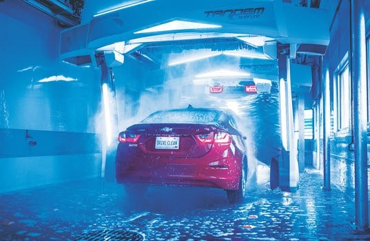 PDQ Manufacturing Introduces Tandem Surfline Vehicle Wash System