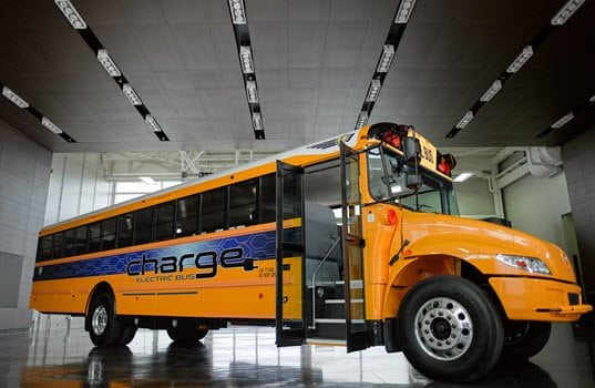 IC Bus Unveils IC Electric Bus chargE™