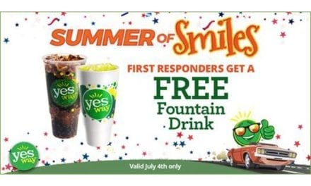 """Yesway Honors First Responders and Military Servicemen and Servicewomen with """"Free Fountain on the 4th""""!"""