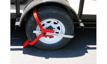 "Protect Your Trailer with ""The Club"" Tire Claw XL or ""The Club"" Wheel Club"