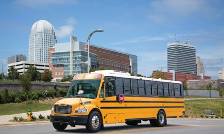 New Propane-fueled Thomas Built Bus Paired with an Allison Transmission