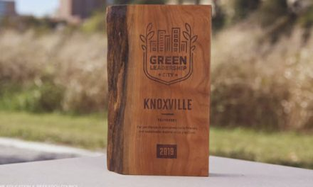 National Energy Non-Profit Awards City of Knoxville with 2019 Sustainability Award