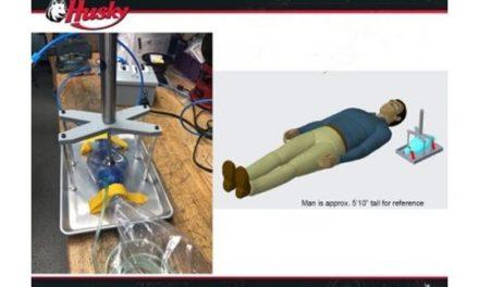 Husky Corporation Engineers Develop Ventilator Design for Rapid-Manufacture