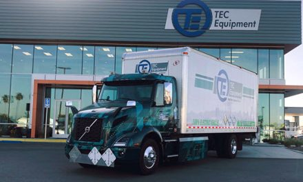Volvo Trucks Deploys First Pilot All-Electric VNR Truck in Southern California