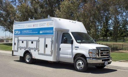 Motiv Power Systems Delivers Nine Electric Box Trucks to Community Resource Project