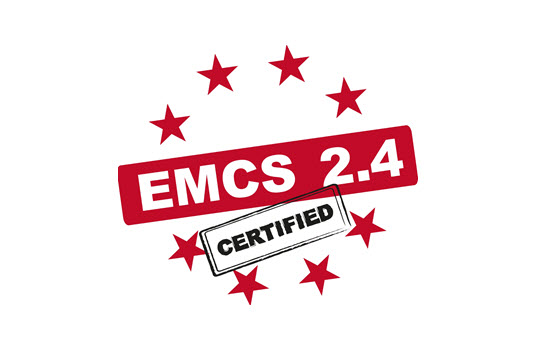 Terminal Management System OpenTAS Receives Certificate for EMCS 2.4