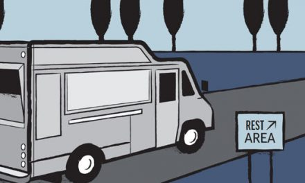 How Food Trucks Temporarily Ended Up at Rest Areas