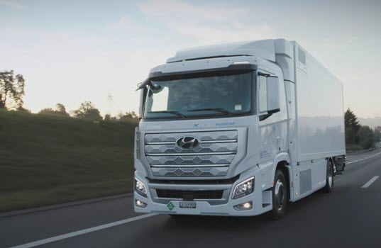 Hyundai Motor Company Launches XCIENT Fuel Cell Truck at Digital Event