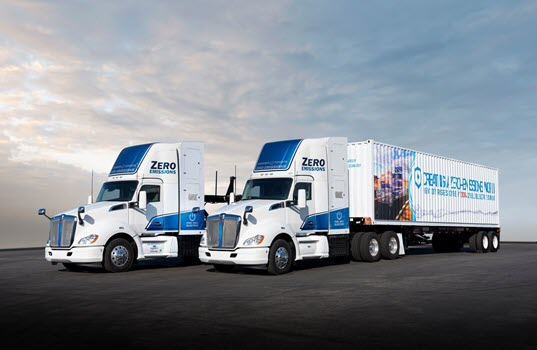 Heavy Duty Fuel Cell Electric Trucks Set for Delivery