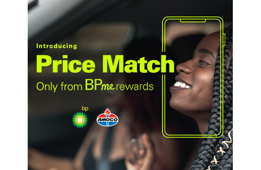 bp launches Price Match from BPme Rewards