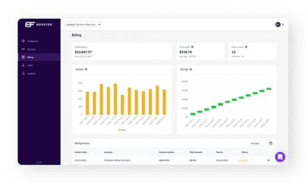 Booster's Proprietary Fleet Analytics Technology