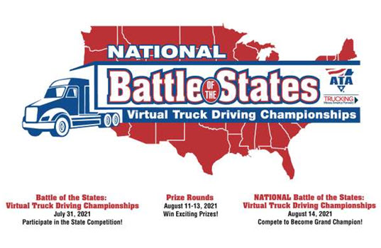 ATA Launches 'Battle of the States' National Truck Driving Championship