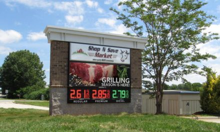 Shop N Save Market Selects Watchfire Signs