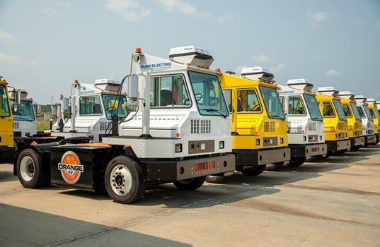 Orange EV's Fleet of Pure Electric Class 8 Trucks Surpasses Three Million Miles and One Million Hours of Operation