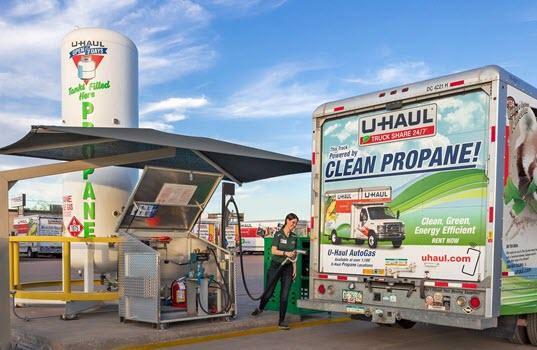 Suburban Propane Offers Renewable Propane for U-Haul in California